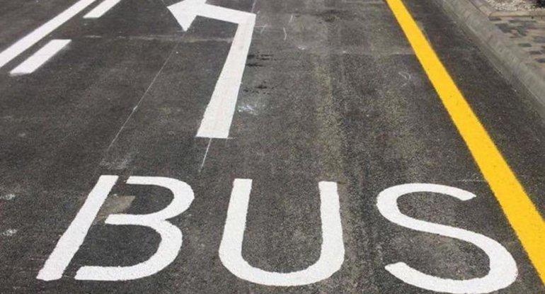 Bakıda bu saatlarda avtobus zolaqlarına girmək olar - YENİLİK