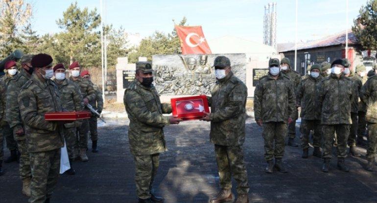 Qarsdakı təlimlərdə iştirak edən hərbçilərimiz Vətənə qayıtdı - FOTO