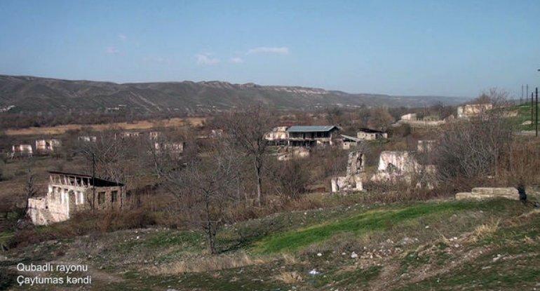 İşğaldan azad edilmiş Qubadlının daha bir kəndindən görüntülər - VİDEO