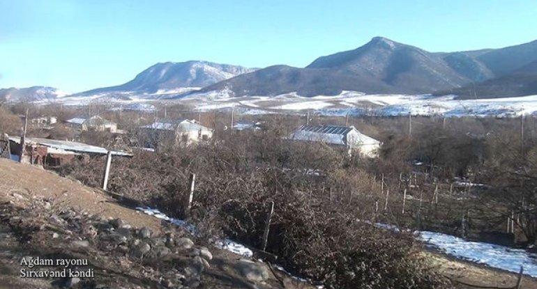 Ağdamın Sırxavənd kəndindən görüntülər – VİDEO