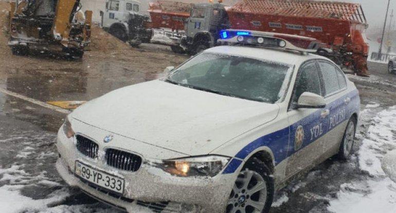 Qarlı hava nəticəsində Bakıda baş verən qəzaların sayı AÇIQLANDI - RƏSMİ