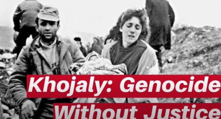 ABŞ-da Xocalı soyqırımına həsr olunmuş televiziya verilişi nümayiş etdirilib - VİDEO