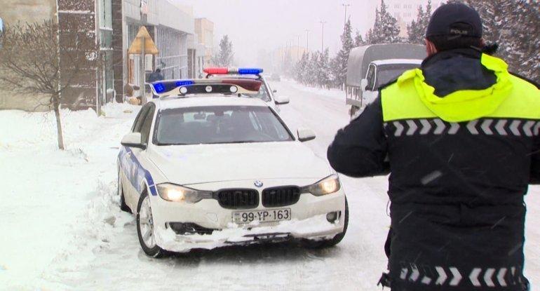 Yolların buz bağlaması nəticəsində Bakıda baş verən qəzaların sayı AÇIQLANDI