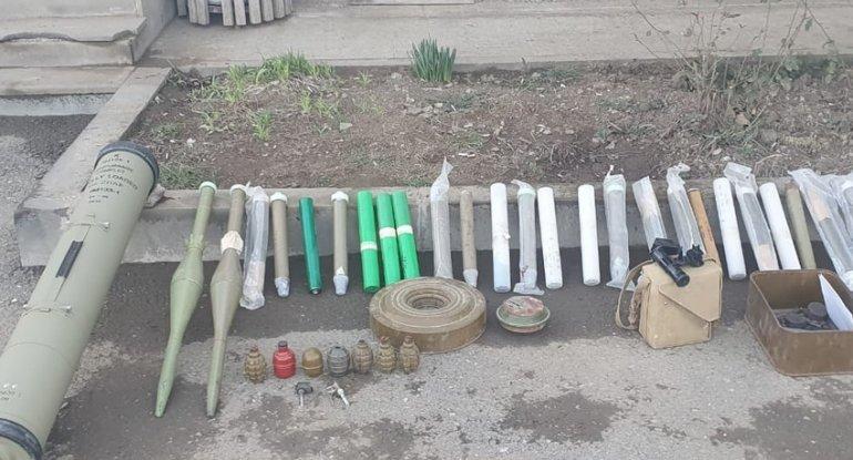 Xocavənddə düşmənin atıb qaçdığı silah-sursat aşkarlandı