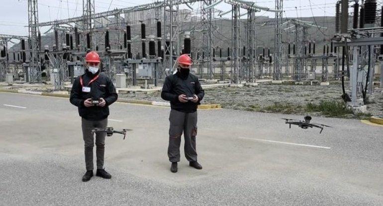 Dronlar Qarabağda elektrik qəzalarını müəyyən edəcək - VİDEO
