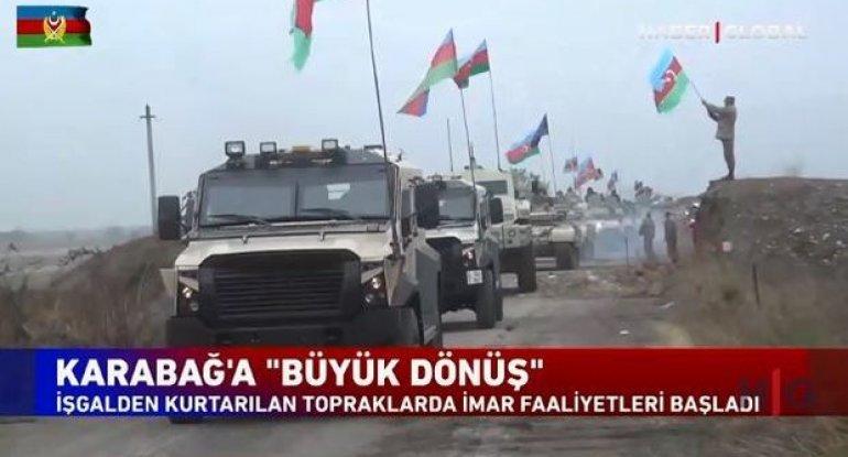 """""""Haber Global"""" Qarabağa böyük qayıdış haqqında süjet hazırlayıb - VİDEO"""