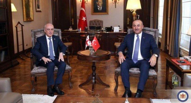 Gürcüstan və Türkiyə XİN başçıları görüşüb - FOTO