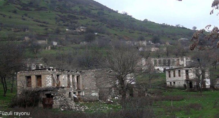 Füzulinin Gorazıllı kəndindən görüntülər