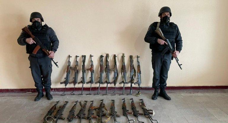 Qubadlı və Cəbrayılda silah-sursat aşkarlandı