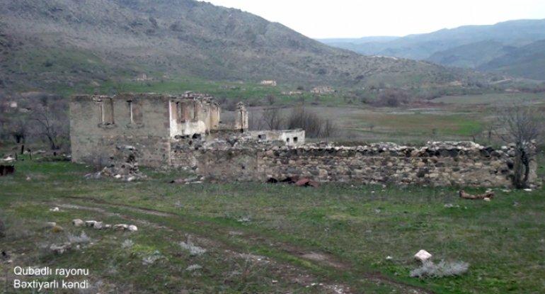 Qubadlının Bəxtiyarlı kəndinin görüntüləri - VİDEO