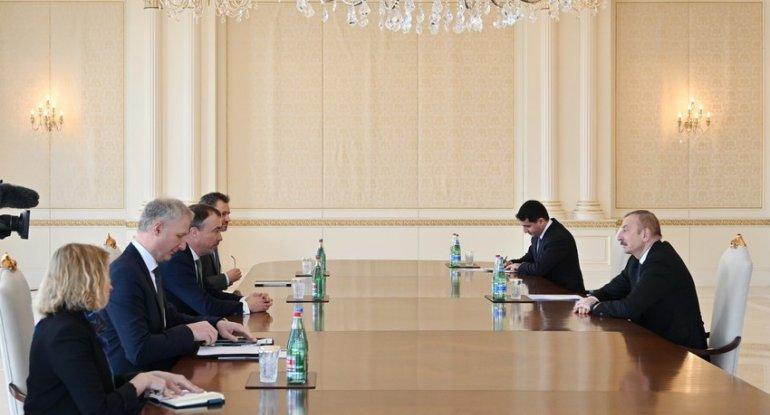 Azərbaycan Prezidenti Avropa İttifaqının xüsusi nümayəndəsini qəbul edib