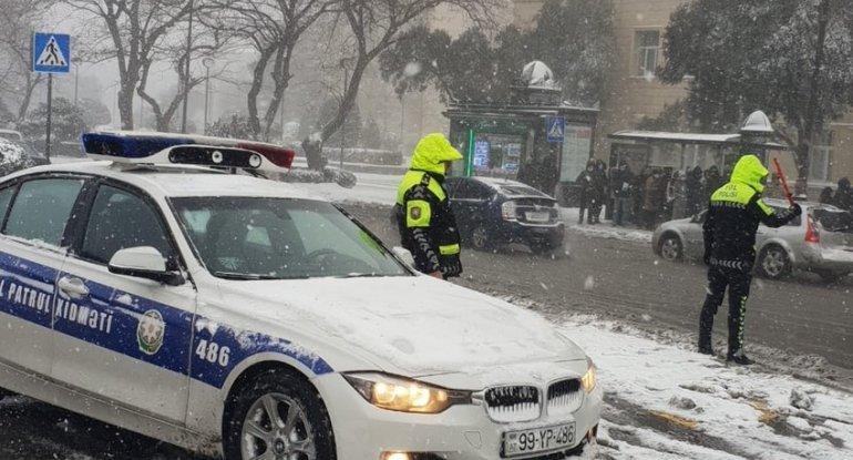 Yol polisindən sürücülərə MÜRACİƏT