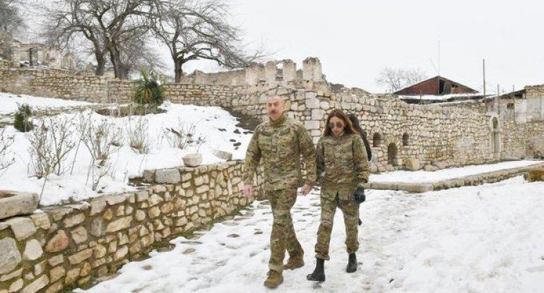 İlham Əliyev və Mehriban Əliyeva Füzuli və Xocavənd rayonlarında olublar - CANLI YAYIM