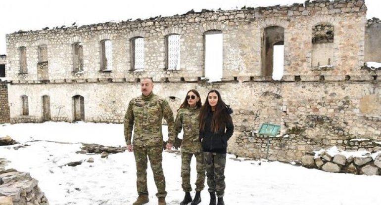 İlham Əliyev və Mehriban Əliyeva Füzuli və Xocavənd rayonlarında - TAM MƏTN