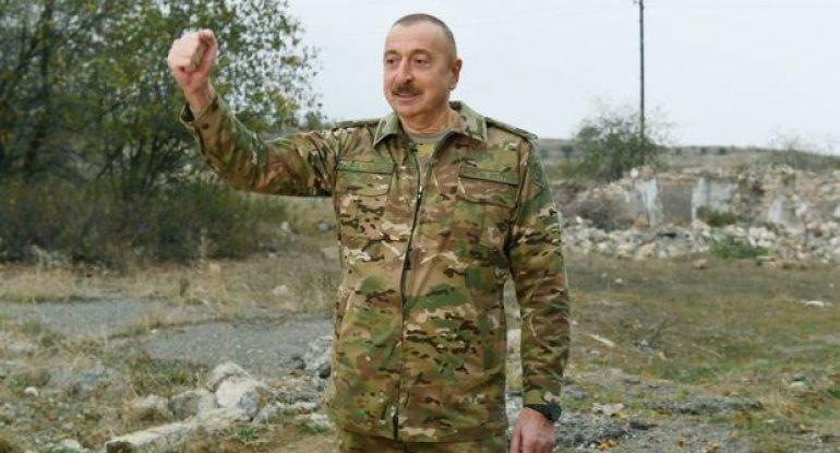 """Prezident """"Qarabağ"""" hotelində gedən yenidənqurma işləri ilə tanış olub – VİDEO"""