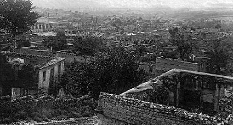 Ermənilərin Şamaxıda törətdikləri soyqırımından 103 il ötür
