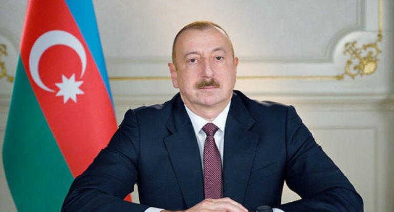 İlham Əliyev Azərbaycan xalqına müraciət edir - CANLI YAYIM