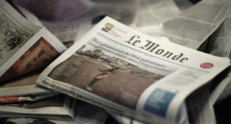 """""""Le Monde"""": """"Mərkəzi aktordan satqına qədər - xalqın Nikol Paşinyandan məyusluğu"""""""