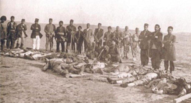 Ermənilərin azərbaycanlılara qarşı törətdiyi soyqırımından 103 il ötür - FOTO