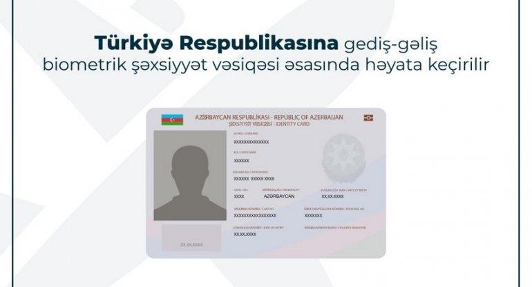 Bu gündən Azərbaycan vətəndaşları Türkiyəyə şəxsiyyət vəsiqəsi ilə səfər ed ...