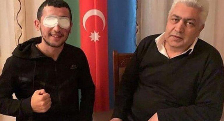 Hər iki gözünü itirən qazimizin atası VƏFAT ETDİ