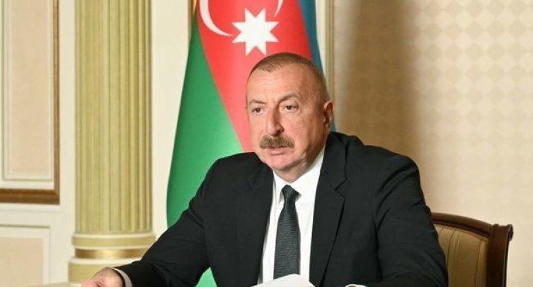 İlham Əliyev Meliorasiya və Su Təsərrüfatı ASC-nin yeni sədrini videoformatda qəbul edir - CANLI YAYIM