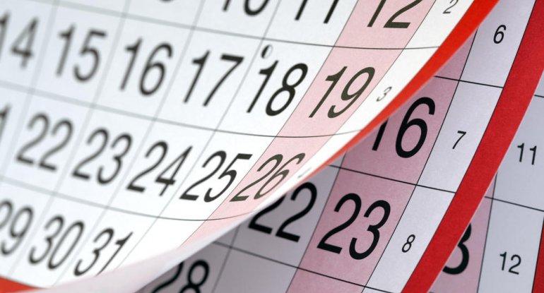 May ayında 14 gün iş OLMAYACAQ!