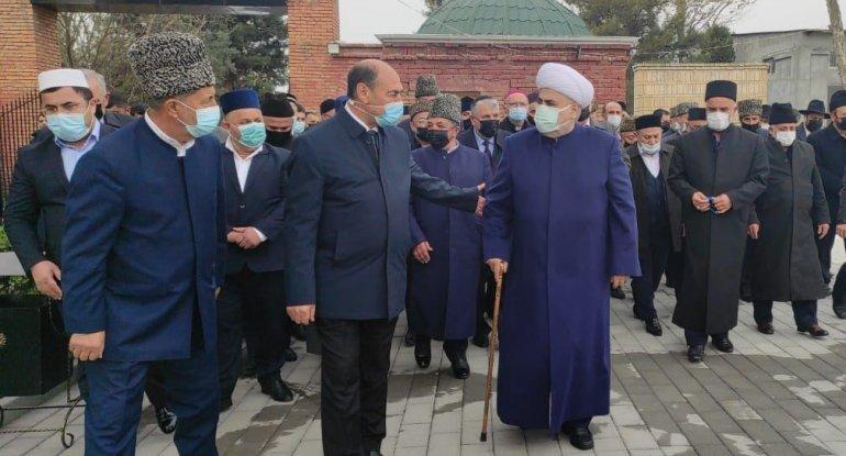Dini konfessiya rəhbərləri Ağdamda səfərdədir