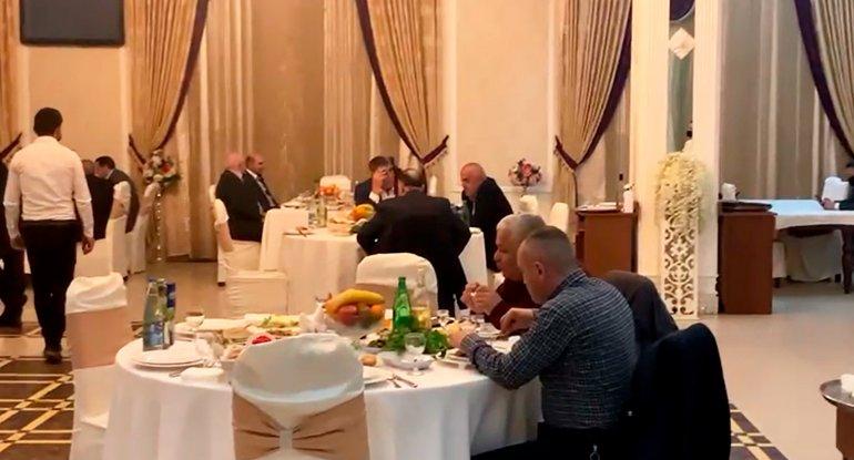 """""""Şuşa"""" restoranında gizli keçirilən toydan görüntülər - VİDEO"""