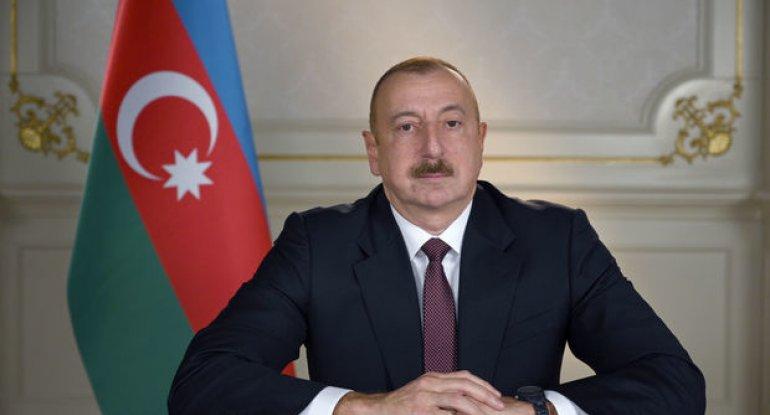Prezident İlham Əliyev çıxış edir- CANLI YAYIM