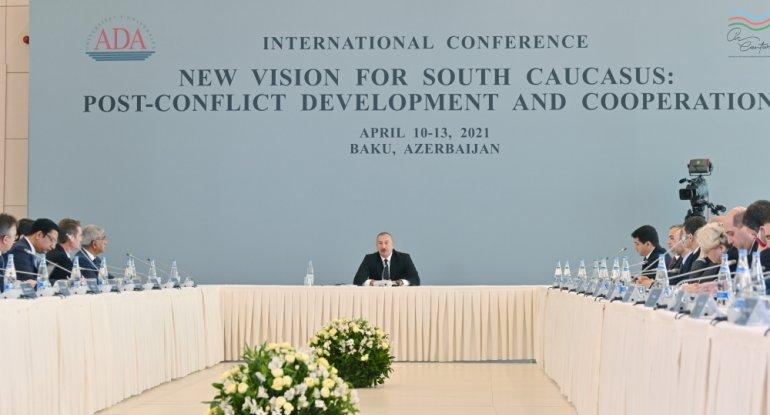 Prezident İlham Əliyev: Bu yaddaşın bizimlə qalacağını başa düşmək vacibdir
