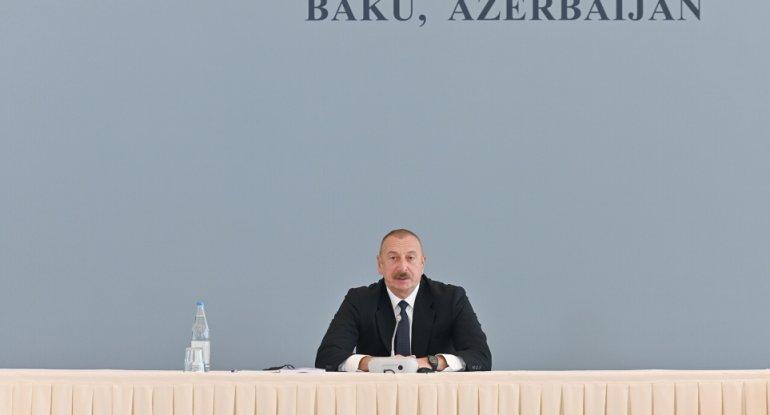 Prezident İlham Əliyev: Atəşkəs əldə olunmasına baxmayaraq, münaqişə ilə bağlı çoxlu suallar qalmaqdadır