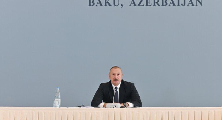 Azərbaycan Prezidenti: Ermənistan əlaqə qurmaq istəyərsə, biz də əlimizdən gələni etməyə hazırıq