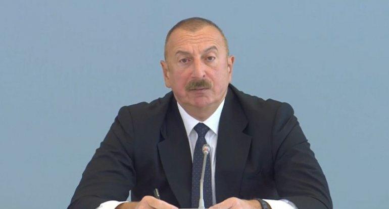 İlham Əliyev: Qarabağ iqtisadiyyatımızda, eləcə də nəqliyyat sektorunda mühüm yerlərdən birini tutacaq