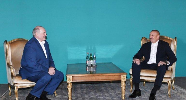İlham Əliyev ilə Lukaşenkonun qeyri-rəsmi görüşü beş saat davam edib - YENİ ...