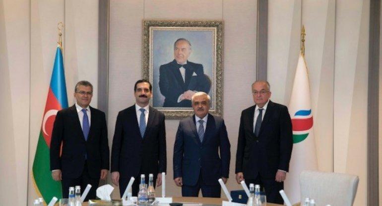 SOCAR-ın prezidenti Türkiyə səfiri ilə görüşüb - FOTO