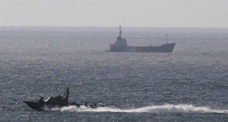 İsrail gəmisi raketlə vurulub