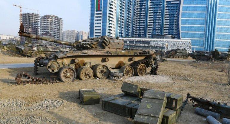 Hərbi Qənimətlər Parkının saytı istifadəyə verildi