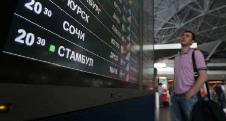 Rusiyanın Türkiyəyə uçuşları dayandırmasına Çavuşoğludan açıqlama - VİDEO