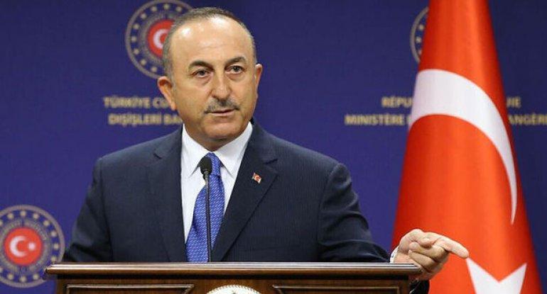 """Cavuşoğlu: ABŞ prezidentinin """"soyqırımı"""" ifadəsini işlədəcəyini düşünmürük"""