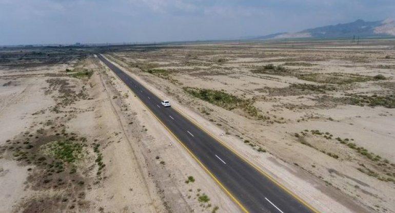 Hacıqabul-Muğan avtomobil yolu istifadəyə verildi