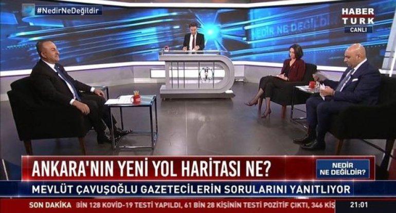 """Çavuşoğlu: """"ABŞ prezidenti """"erməni soyqırımı"""" deyərsə, bu, münasibətlərimiz ..."""