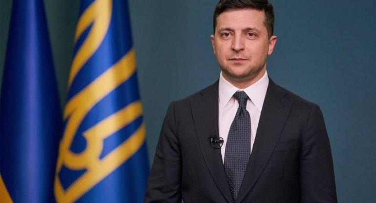 Zelenksi ermənilərə qarşı sanksiya tətbiq etdi - FƏRMAN