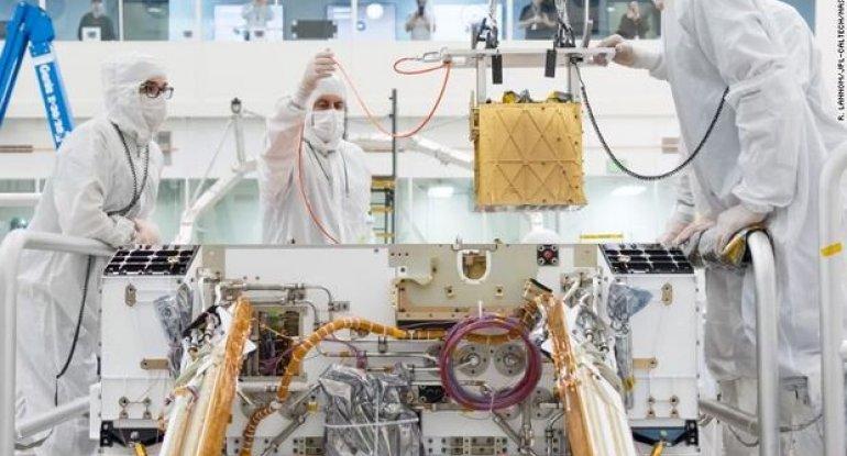 Marsda uğurlu addım: Oksigen əldə edildi - FOTO