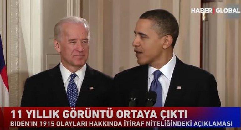 Baydenin 1915-ci il hadisələri barədə etirafı - GİZLİ GÖRÜNTÜLƏR + VİDEO
