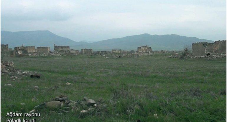 Ağdamın Poladlı kəndi - VİDEO