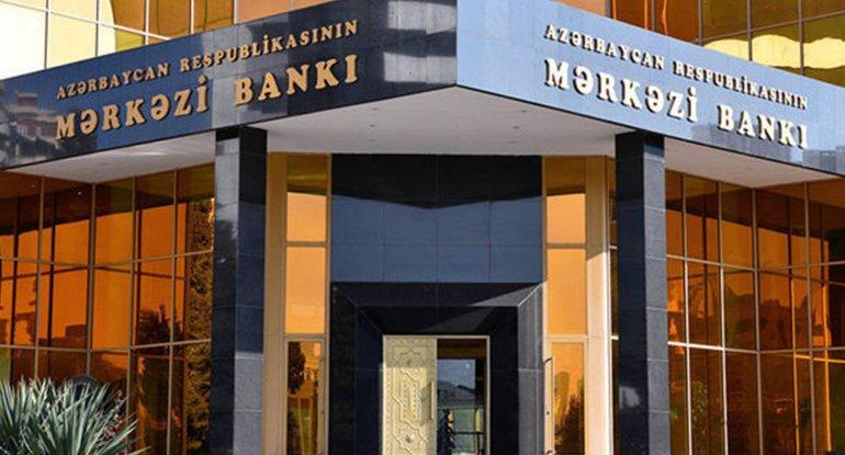 Mərkəzi Bankın xalis mənfəəti 24% azalıb