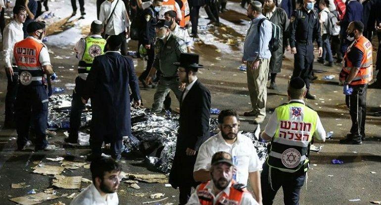 İsraildə faciə: 44 nəfər öldü - VİDEO