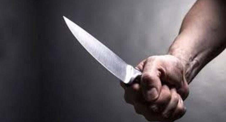 Bakıda 43 yaşlı kişini boğazından bıçaqladılar