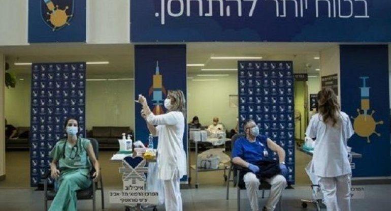 İsraildə ölkə əhalisinin 55 %-i peyvənd olunub